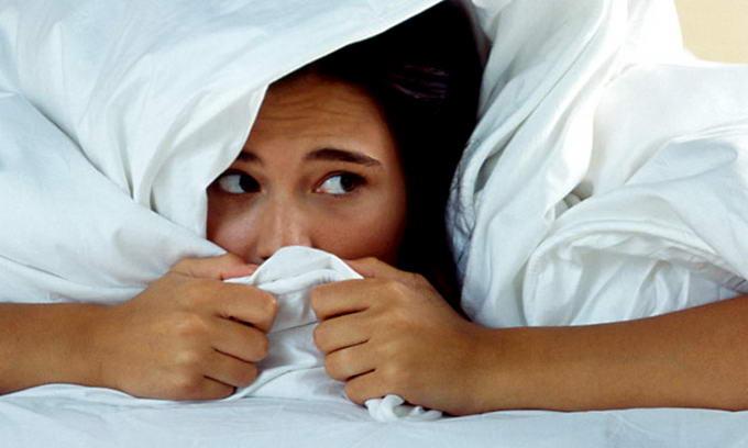 Resultado de imagen para IMAGENES Somnifobia: miedo a dormir.