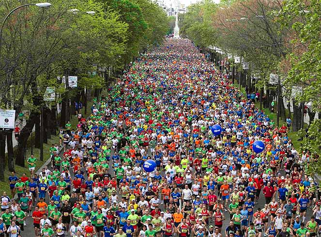 El Maratón de Madrid dejará más de 20 millones en la capital