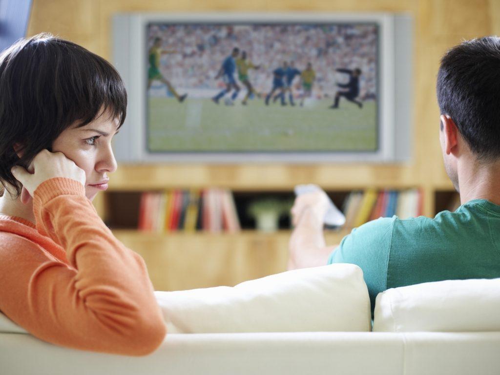 Los hombres prefieren el fútbol al sexo