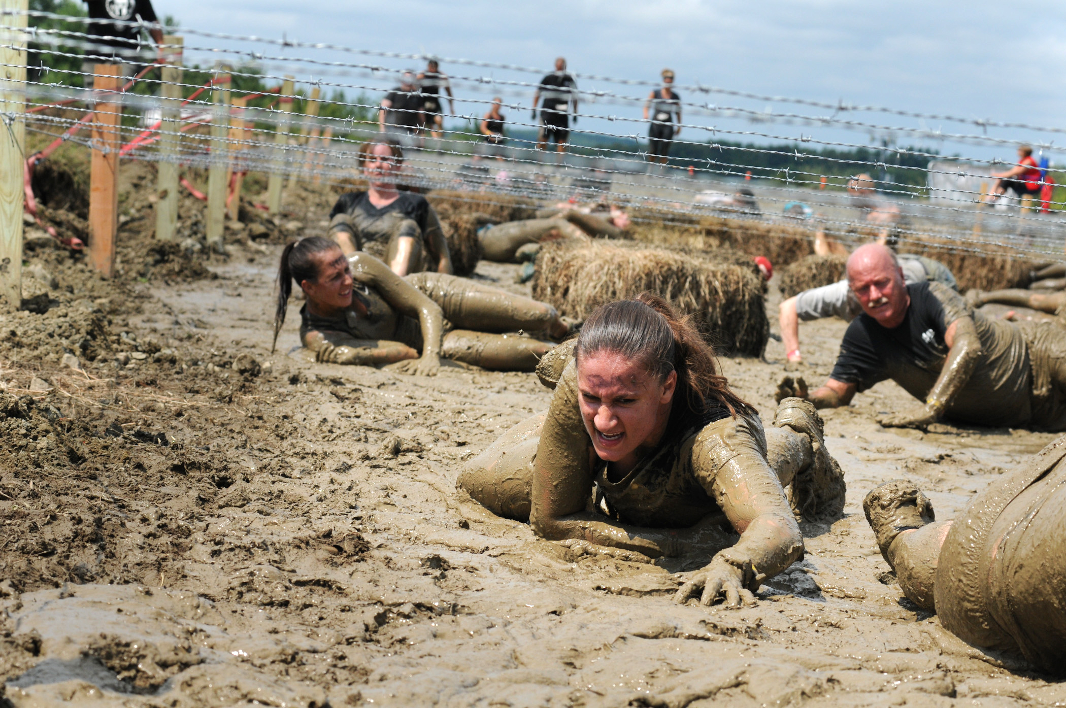 102nd Intelligence Wing members compete in Spartan Race