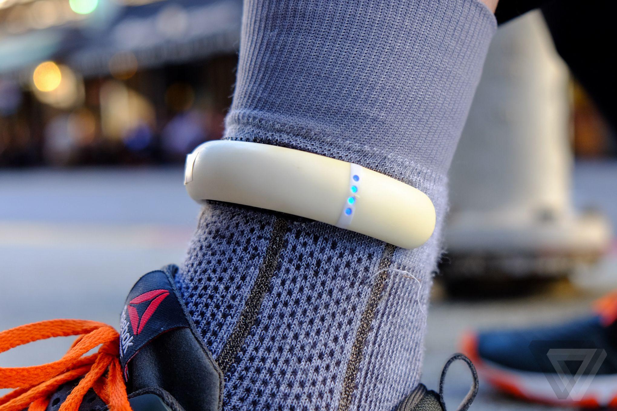 Sensoria-sensor-deportivo-para-el-calcetín