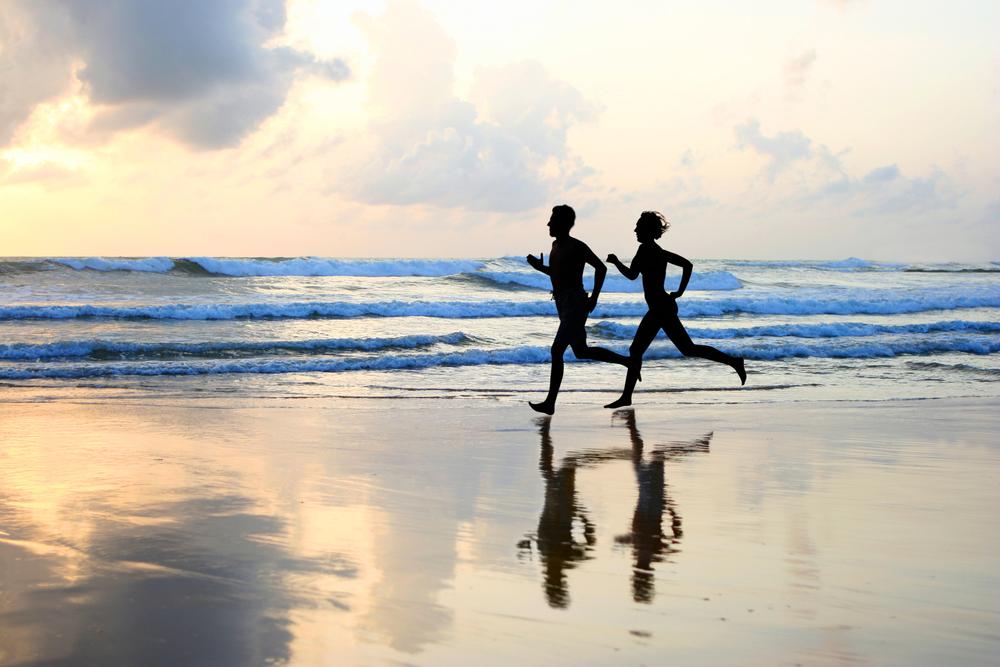 Correr-en-playa