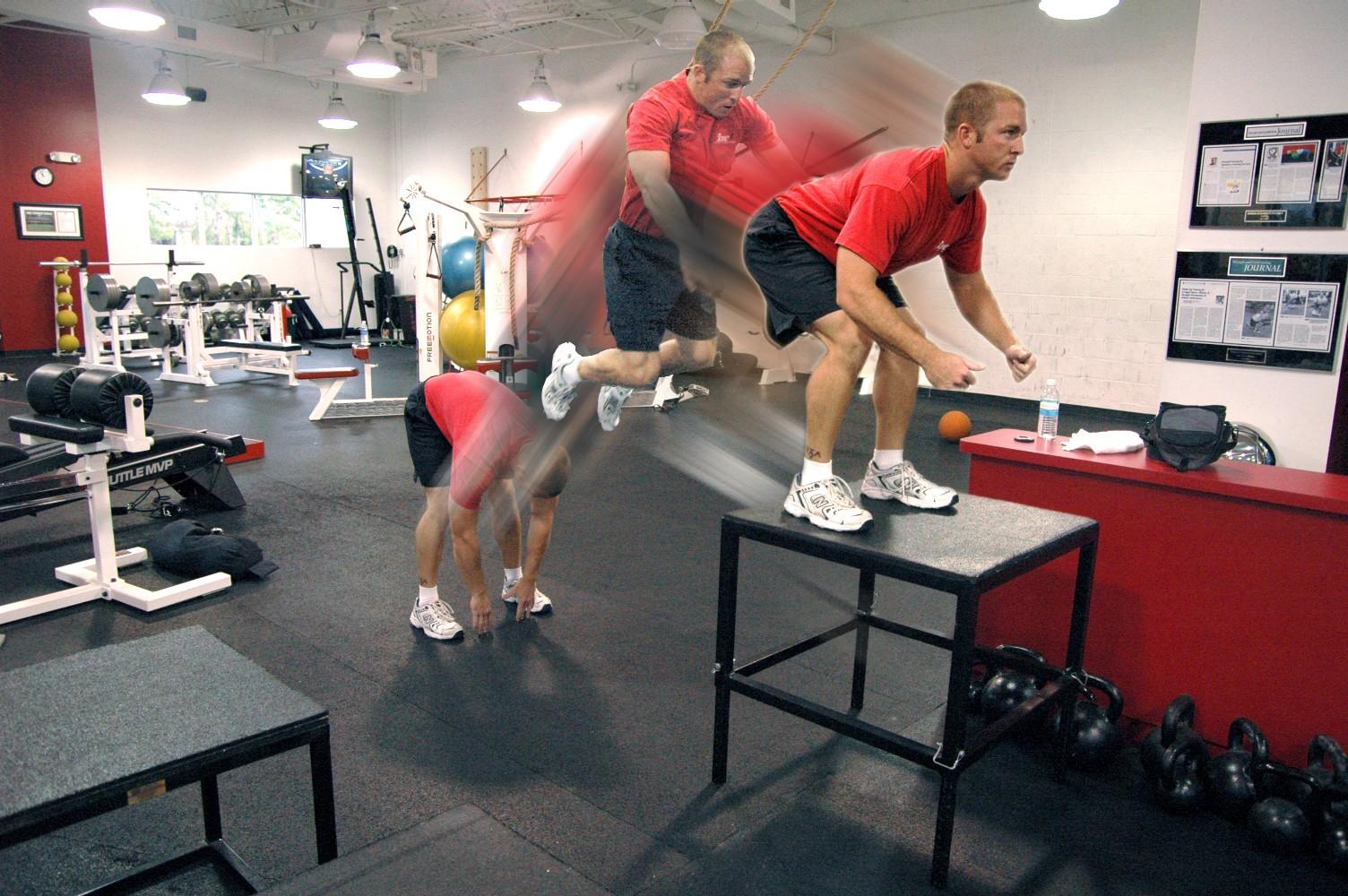 Ejercicios con salto para fortalecer piernas