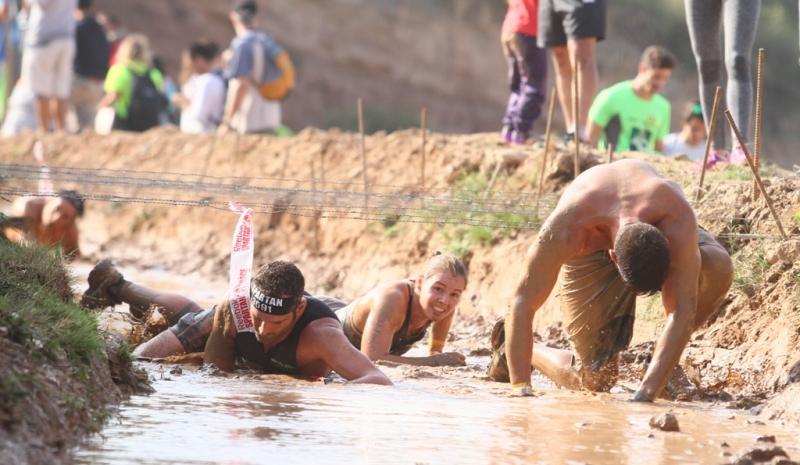 12.000 deportistas participaron en la Spartan Race