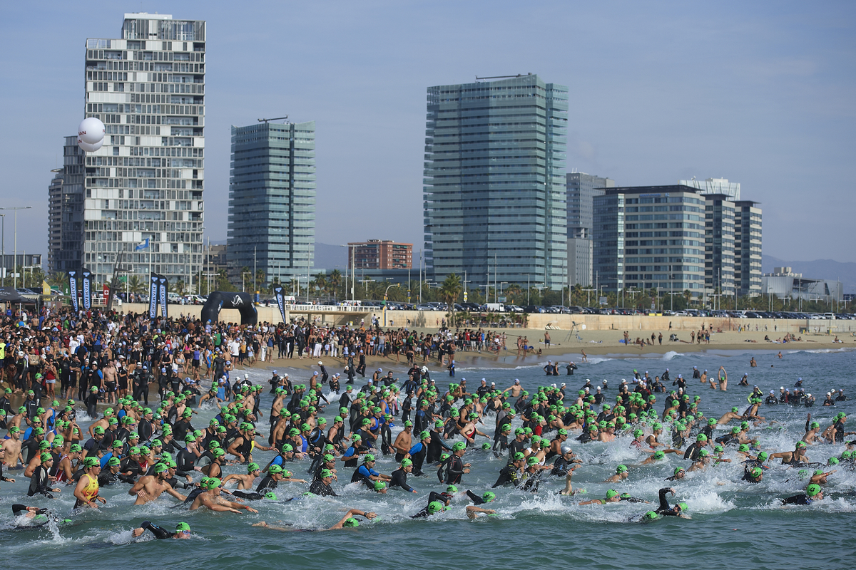 Garmin Barcelona Triathlon 2012