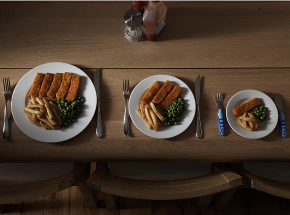 Cómo influye el tamaño y el color de los platos para adelgazar