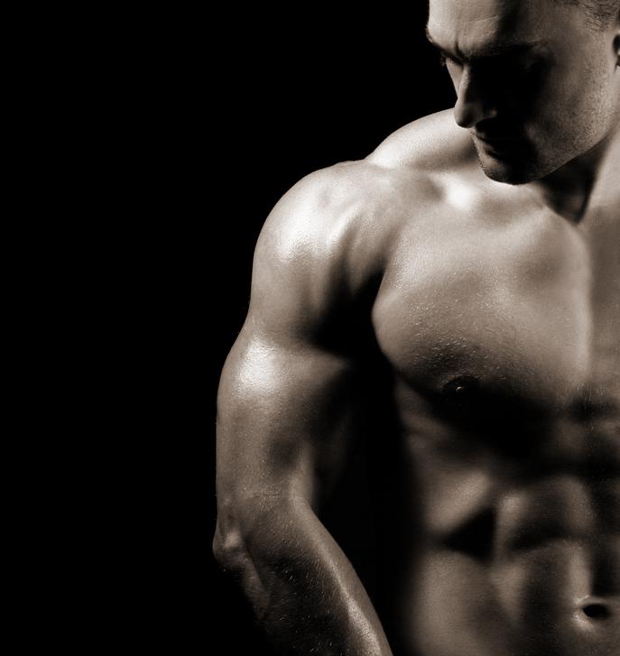 Hombres musculados