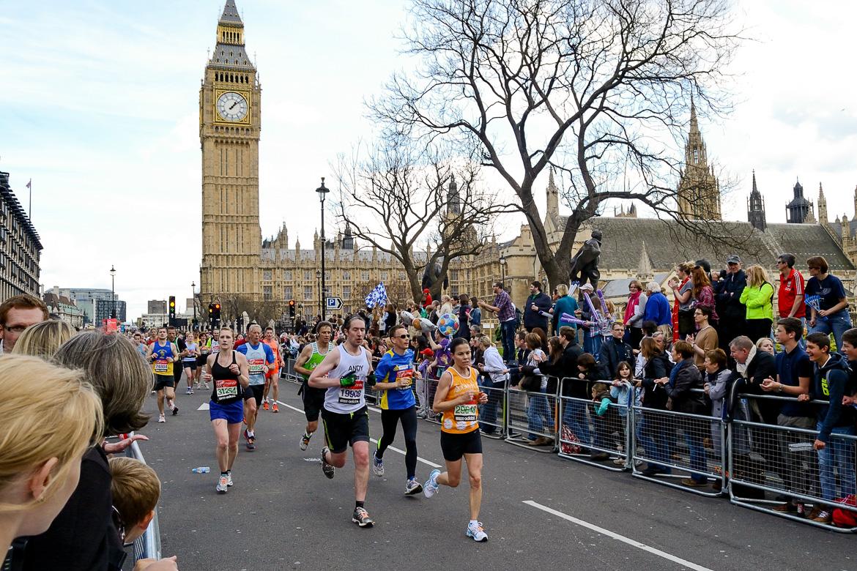 Londres, el maratón más complicado de correr