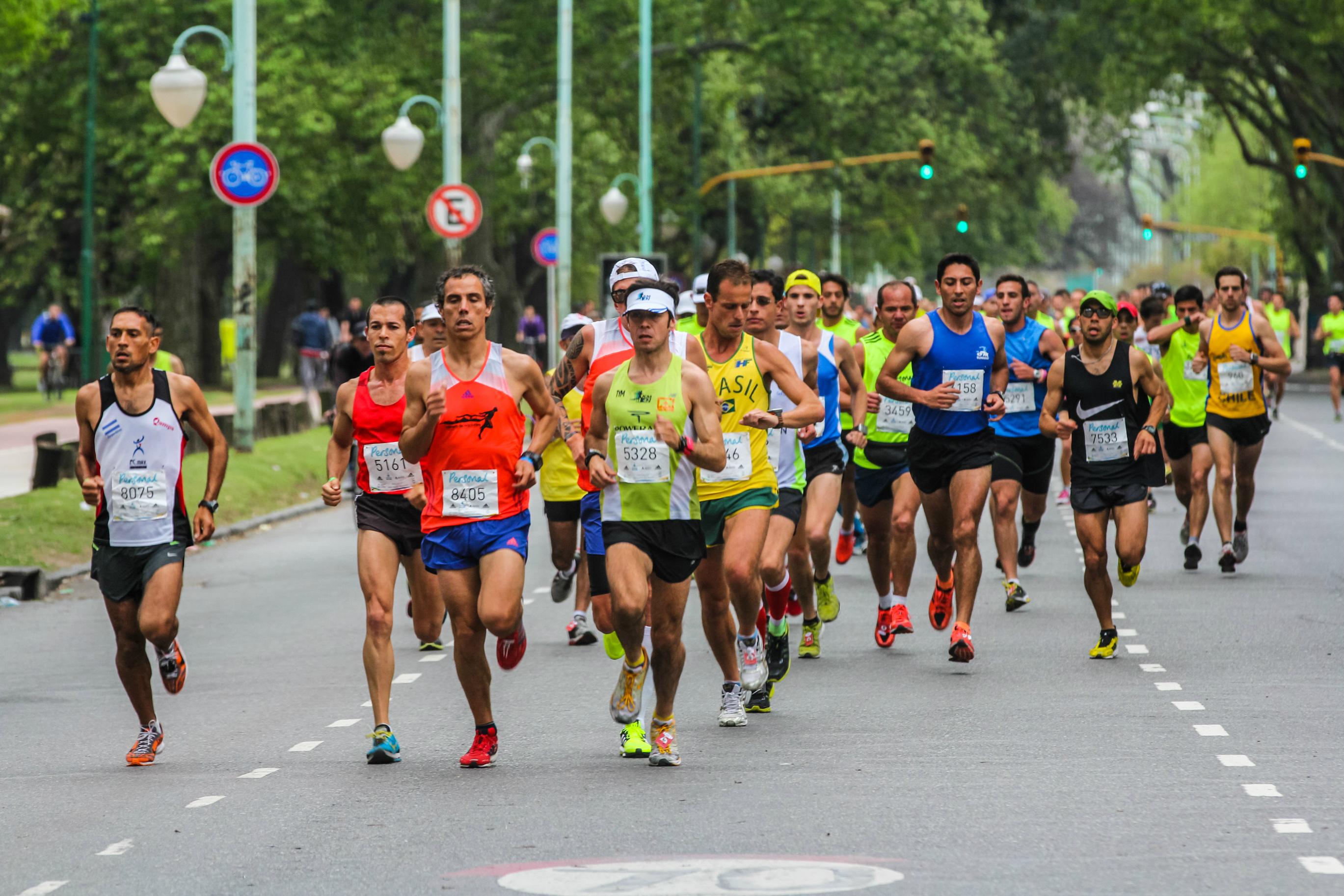 Los corredores de maratón alcanzan un estado de 'flow', según un estudio