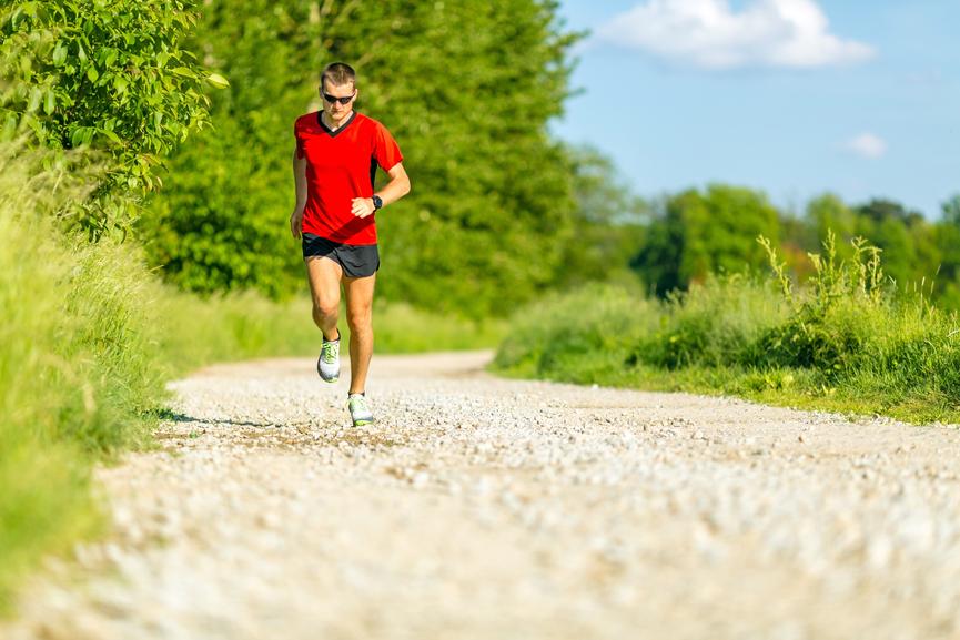 Cross country running