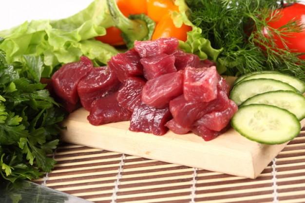 Dietas con carnes y verduras