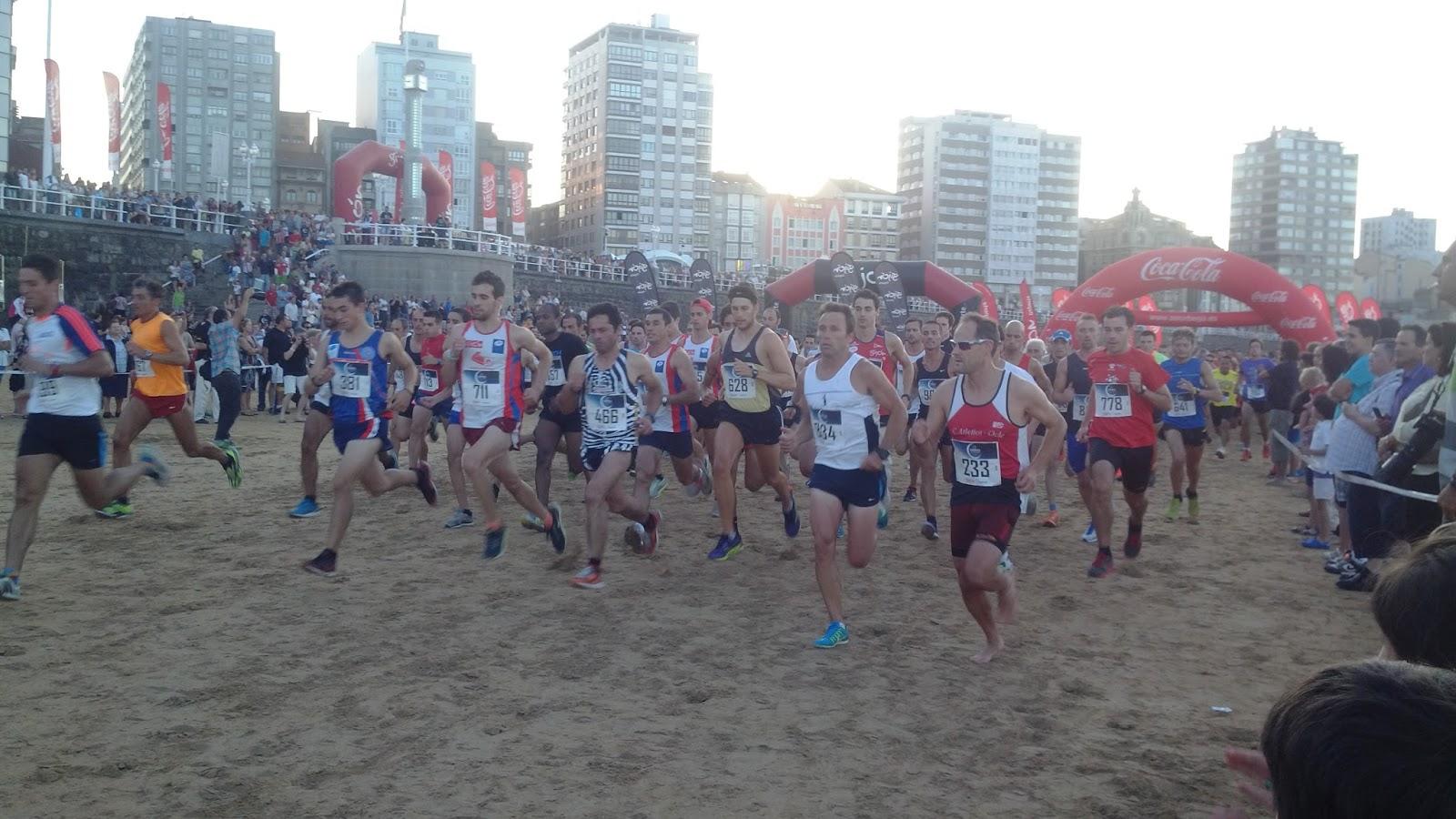 Un corredor sin dorsal consigue el triunfo en una carrera
