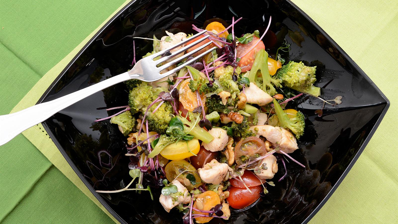 Recetas saludables: Ensalada de brócoli