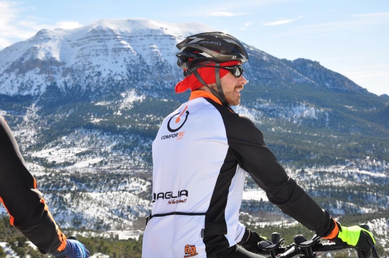 Crean el primer maillot ciclista con calefacción