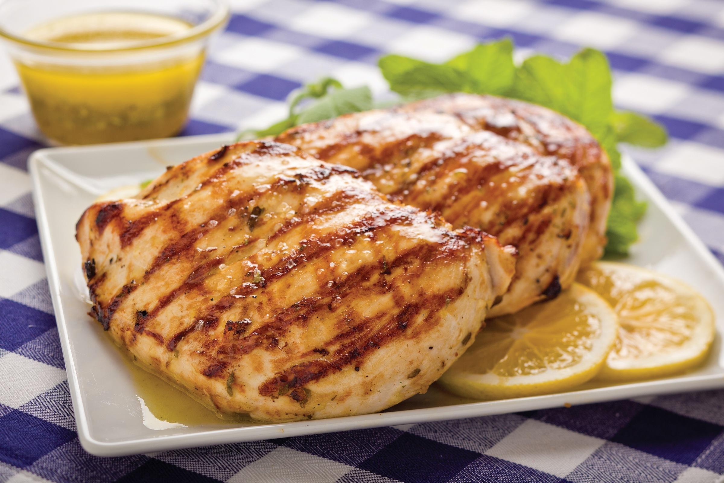 Bajo en colesterol: Pollo