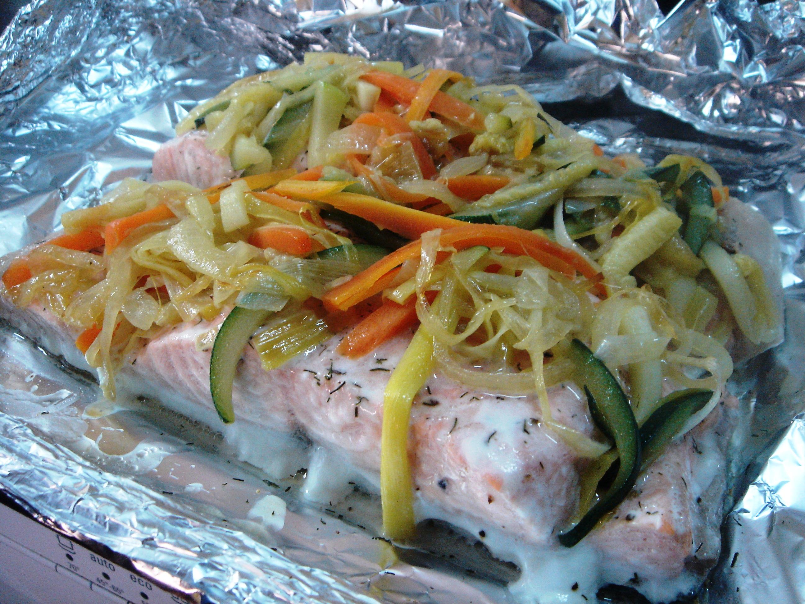 recetas saludables de pescado al horno