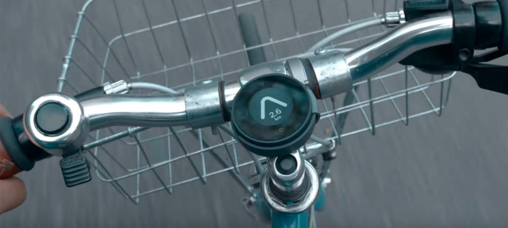 BeeLine, un navegador para bicicletas