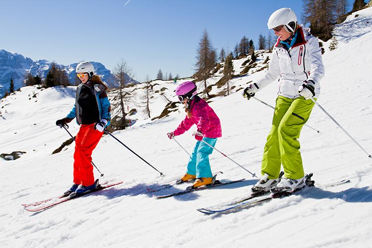 Equipo necesario para practicar esquí