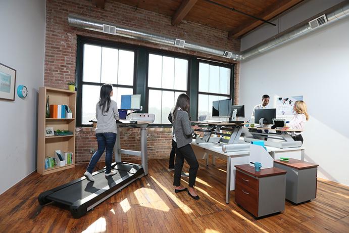 Sacan a la venta unas máquinas para entrenar en la oficina