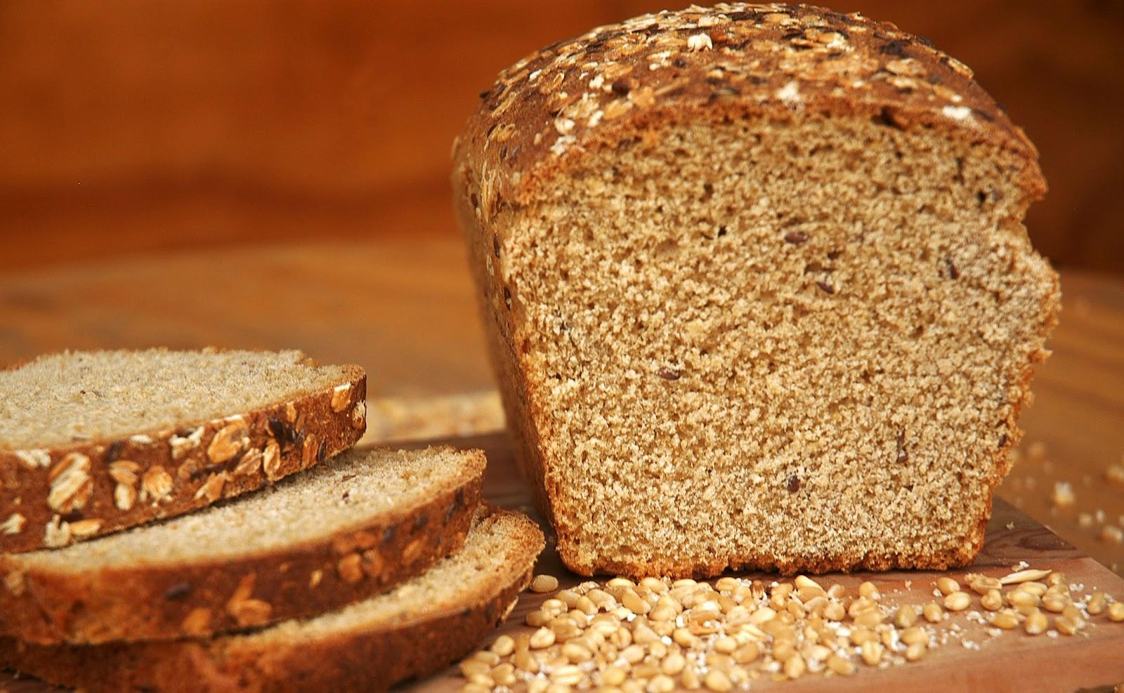 de que se hace el pan integral