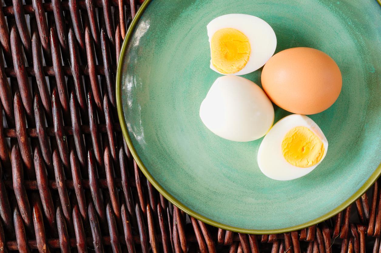 adelgazar con huevo cocido