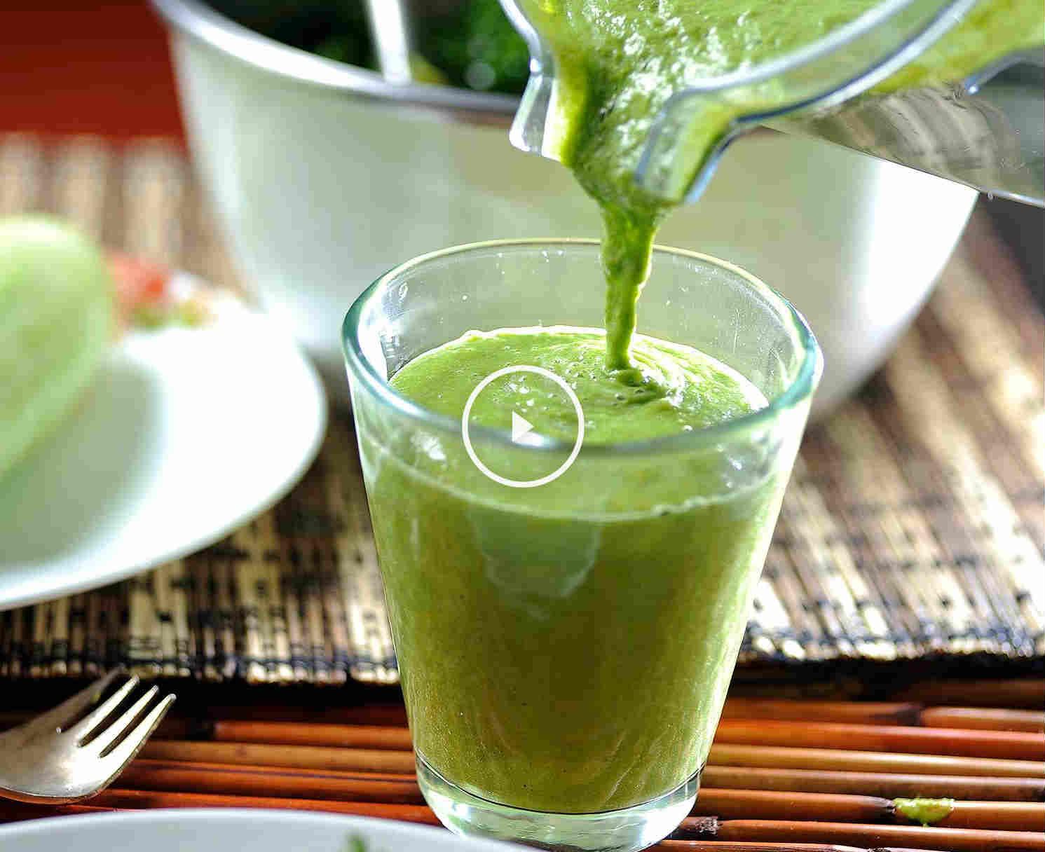 batido verde detox para adelgazar