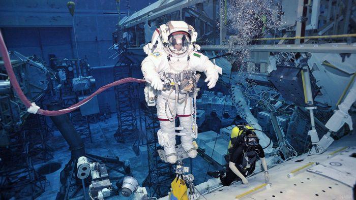 Piscina de entrenamiento para astronautas de la NASA 11