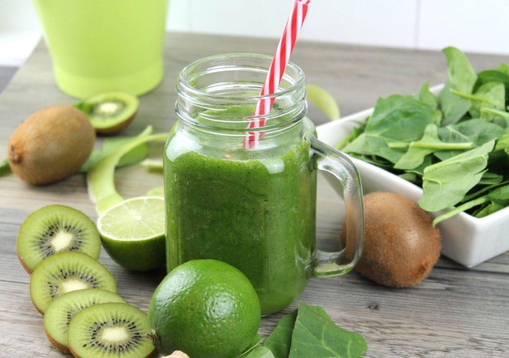 Como preparar batido verde para adelgazar