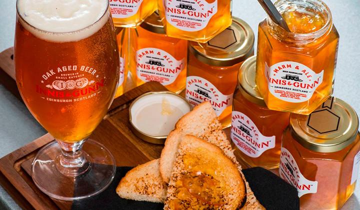 La cerveza se bebe y a partir de ahora también se puede comer