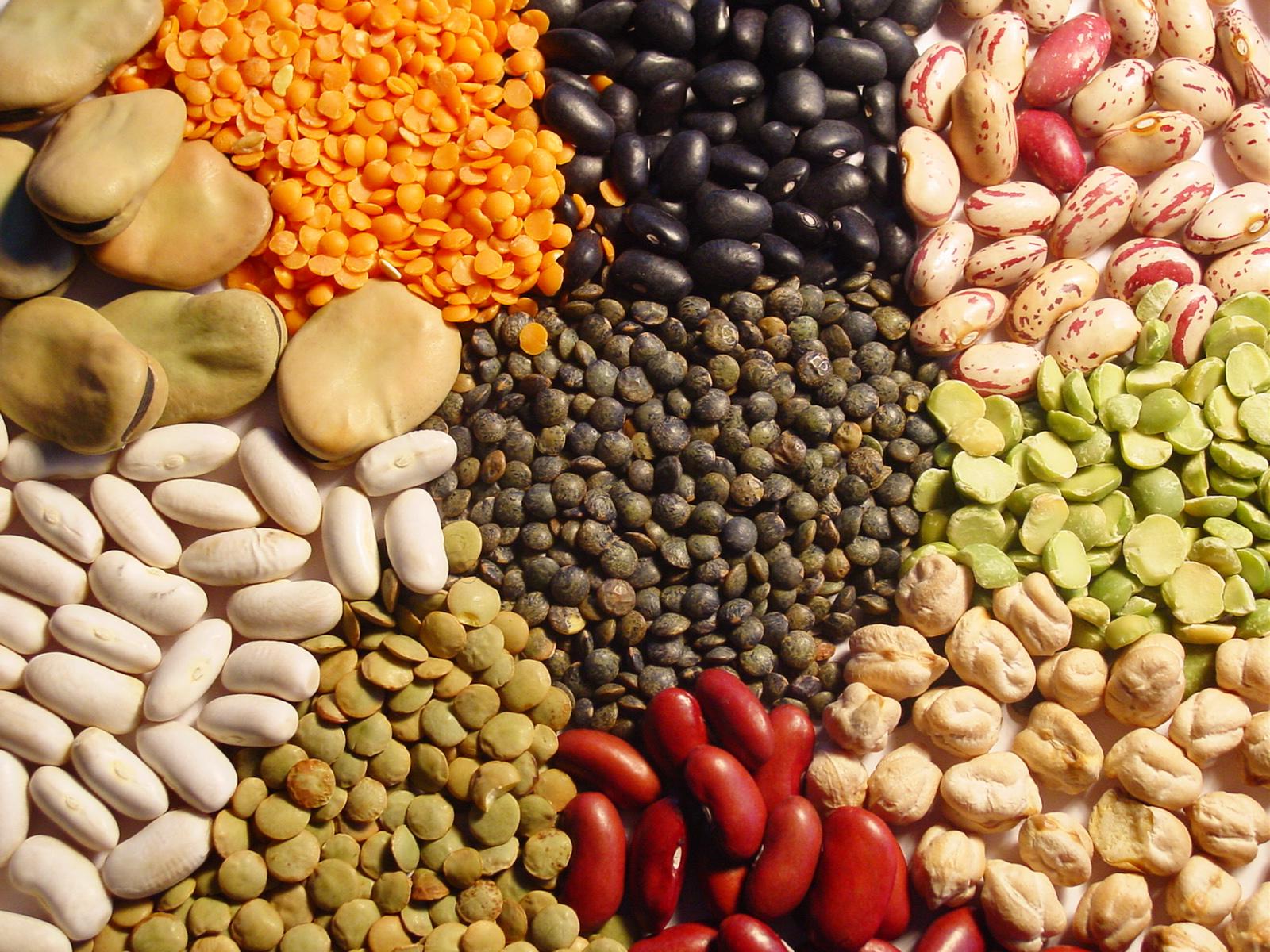 Alimentos depurativos para eliminar toxinas: Legumbres