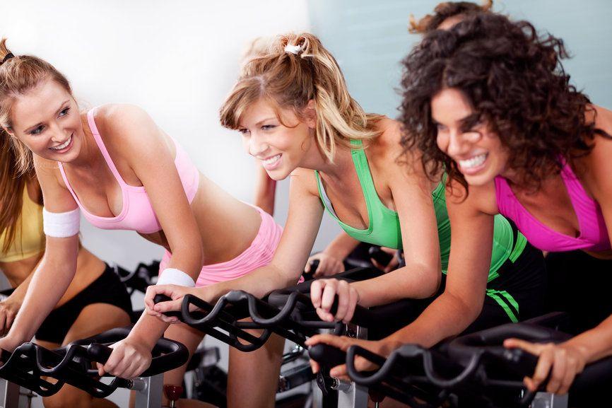 bajar de peso haciendo spinning