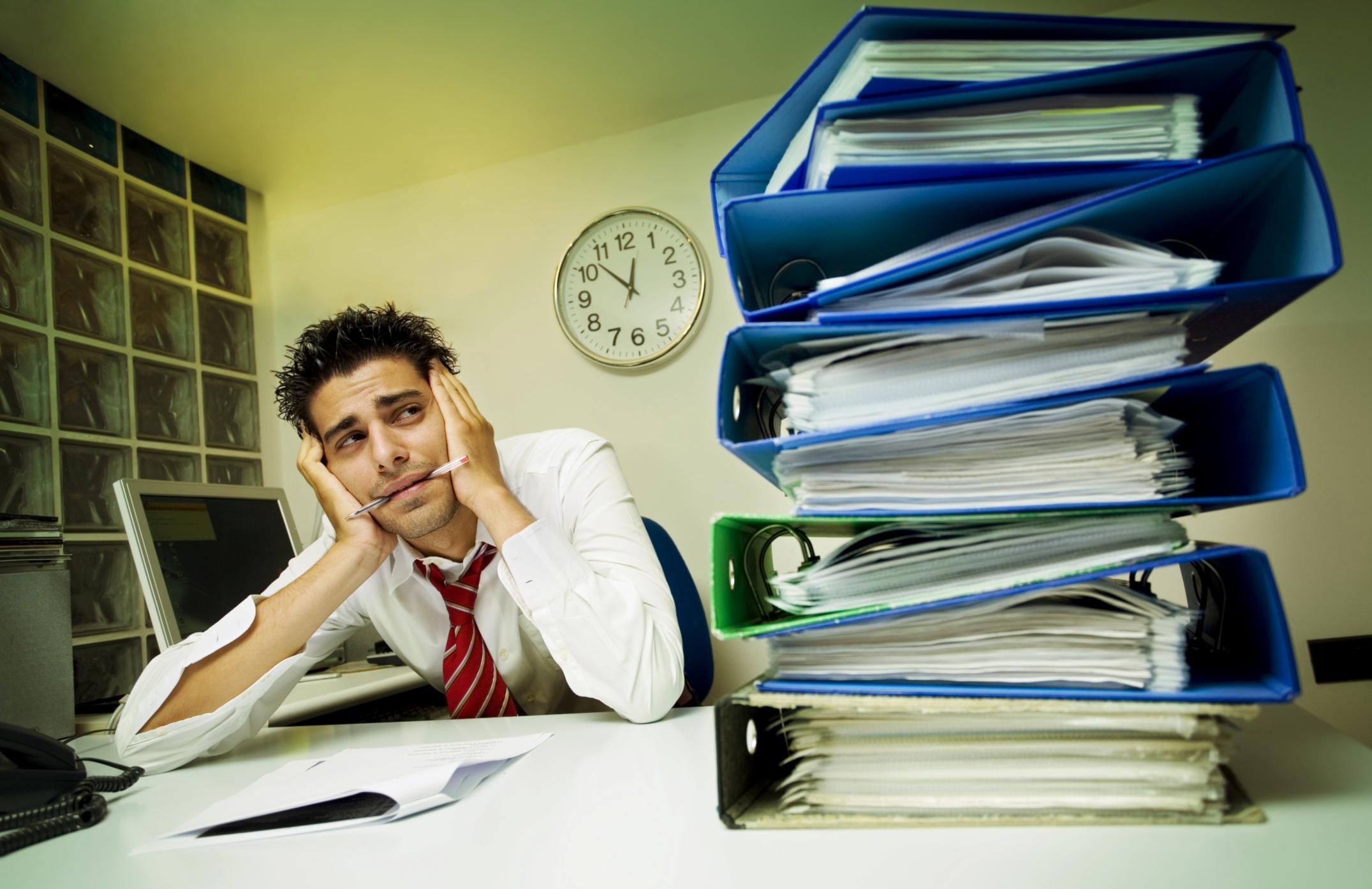 Los peligros para la salud de tener un trabajo que desagradable