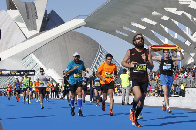Cómo preparar los pies ante un maratón