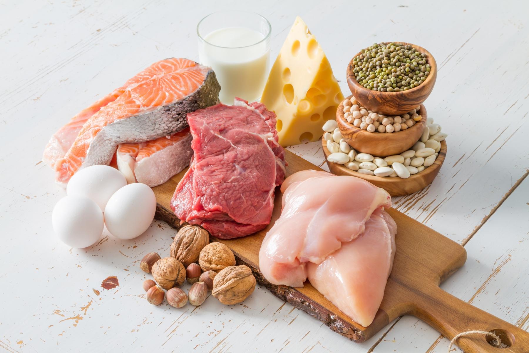 Dietas para bajar de peso de proteinas