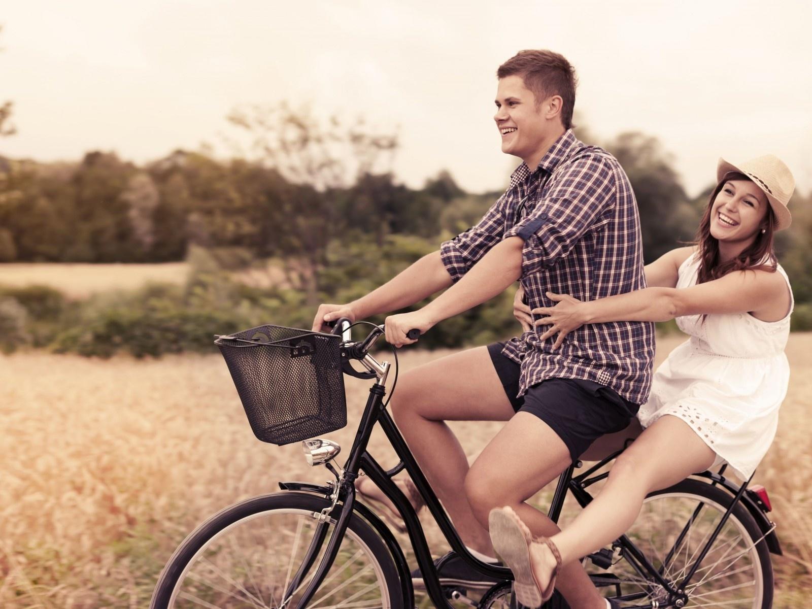 san valentin bicicleta