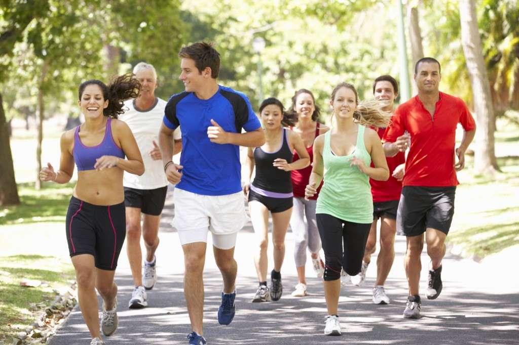 Correr solo o en grupo