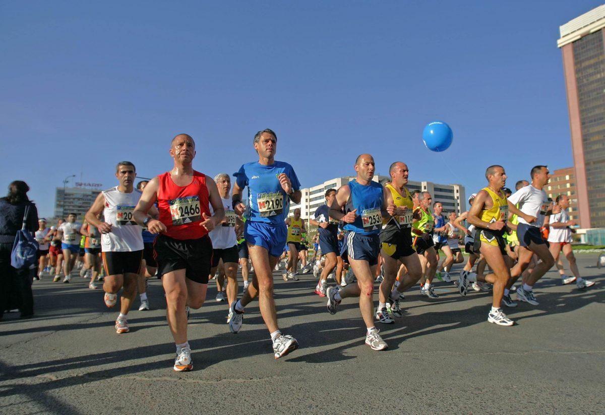 Correr más rápido el maratón.