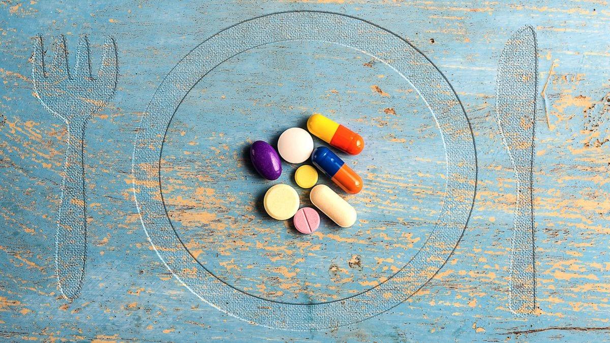 Suplementos nutricionales: Pirámide alimentaria