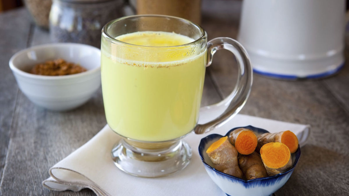 Cúrcuma, Agua y limón