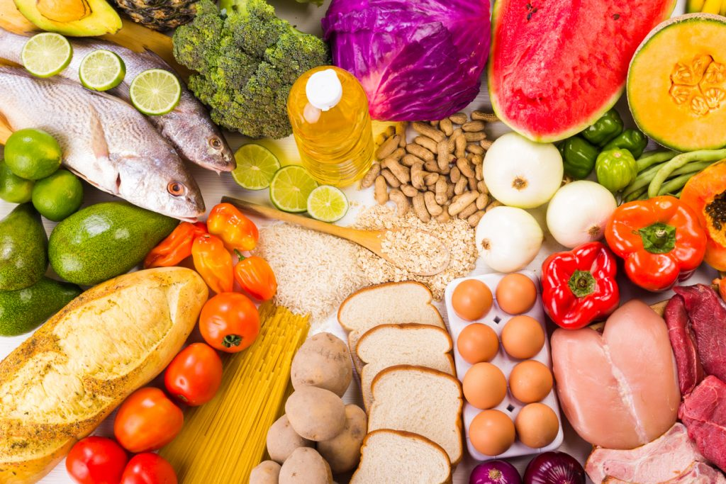 nutrientes necesarios para una dieta equilibradado