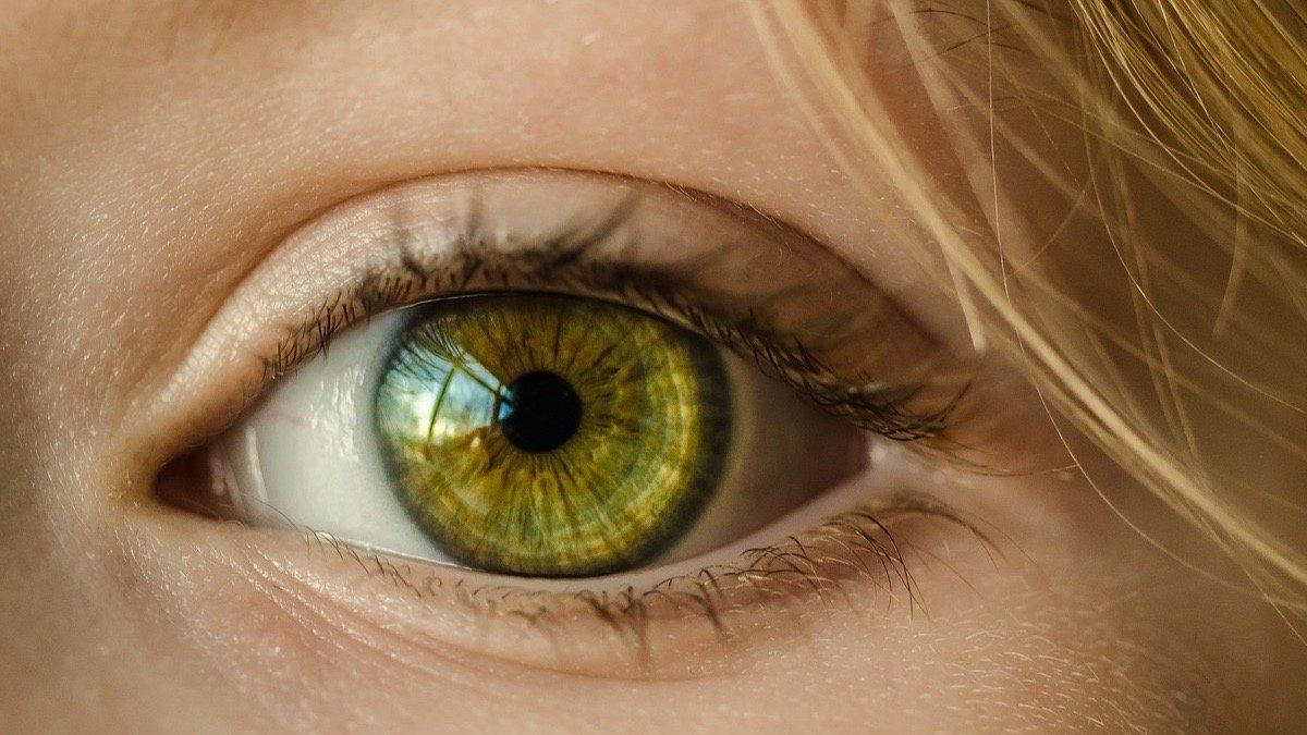 prueba de diabetes del vaso ocular roto
