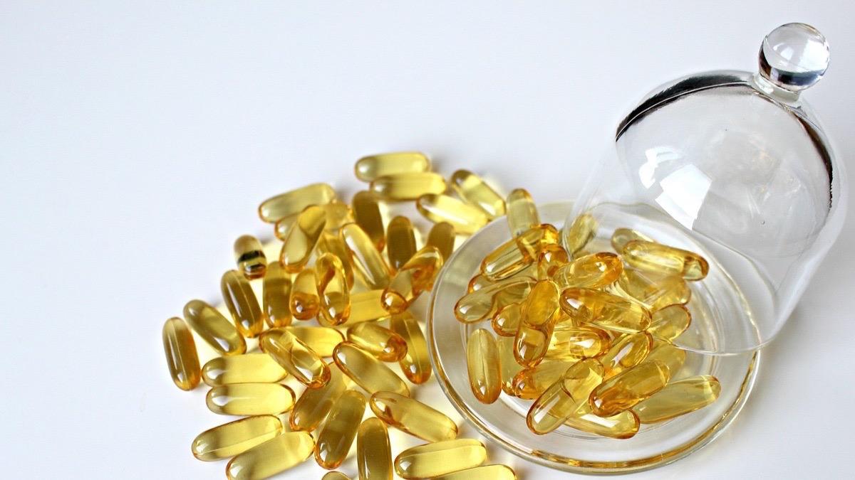 Suplemento de aceite de pescado