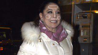 La cantante Isabel Pantoja, en un fotomontaje de Look.