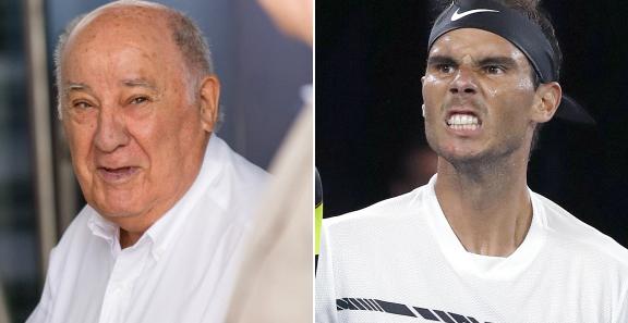Amancio Ortega vuelve a ser el Español más rico y Rafa Nadal se reincorpora a la lista