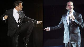Los cantantes Luis Miguel y Alejandro Fernández, enemigos íntimos por unas deudas pendientes.
