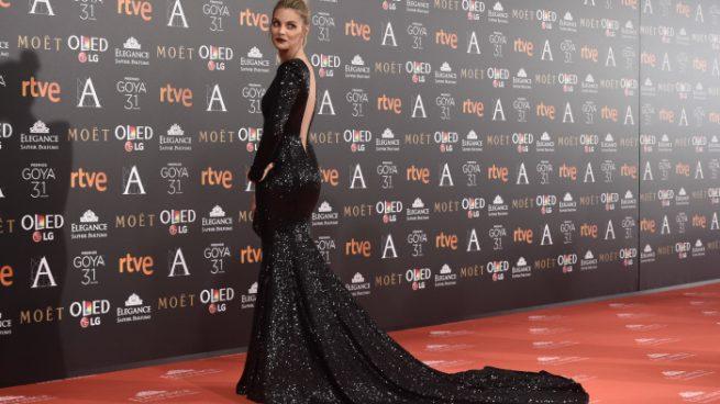 Amaia Salamanca en los Premios Goya 2017
