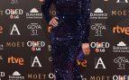 Anne Igartiburu en los premios Goya