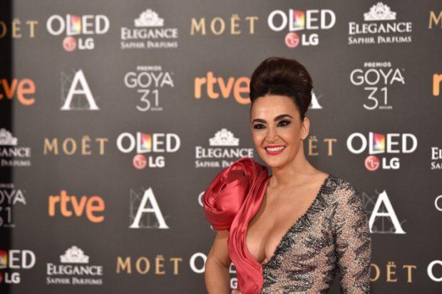 Cristina Rodríguez en los Premios Goya
