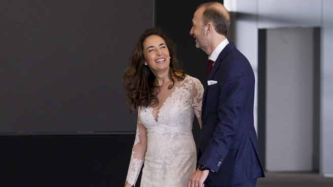 Carolina Punset y Alexis Marí se casan en Valencia