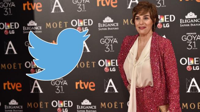 Anabel Alonso estalla contra una usuaria en Twitter